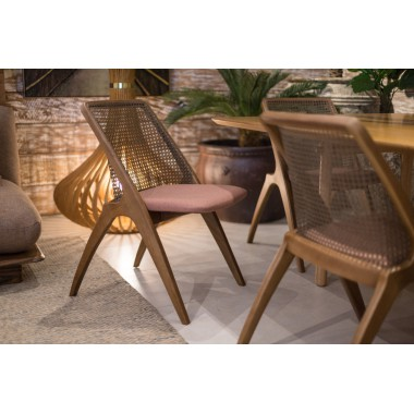 Cadeira Pitanga em Tecido